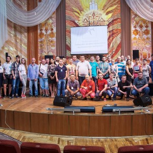 Участники презентации PARK AUDIO в Винницкой областной филармонии