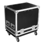 Flight case for two elements PE532e